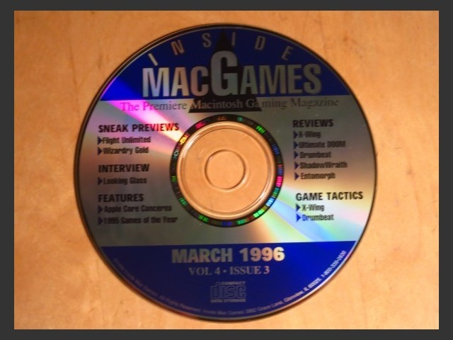 Inside Mac Games CD March 1996 (1996)
