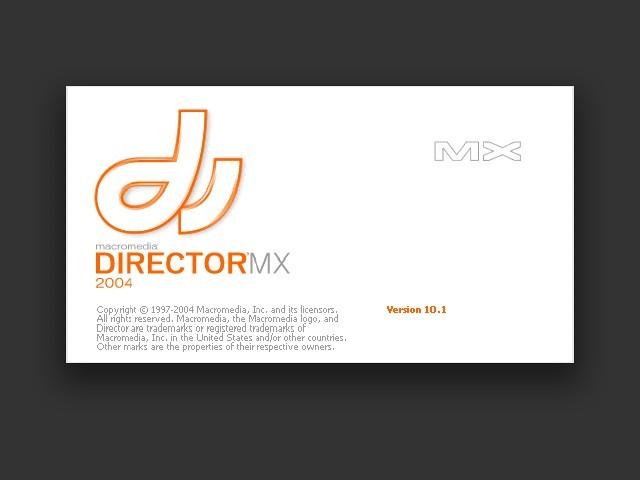 Macromedia Director MX 2004 (2004)