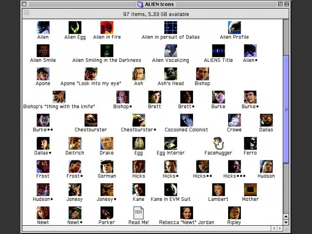 Archive contents preview