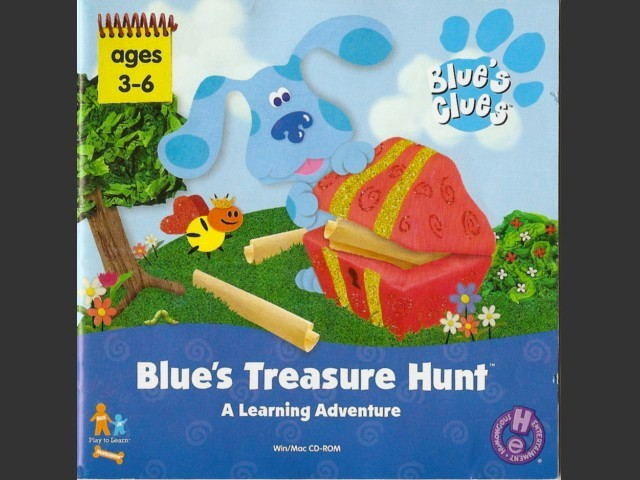 Blue's Treasure Hunt (1999)