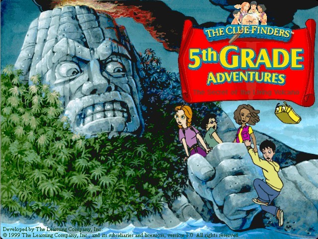 The ClueFinders 5th Grade Adventures (1999)