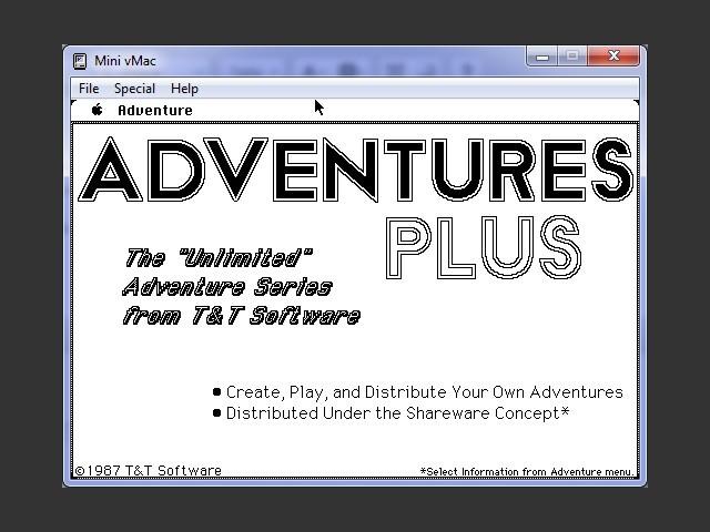 Adventures Plus (1987)