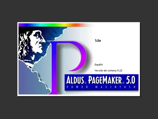 Aldus Page Maker 5.0 (Español) (1994)