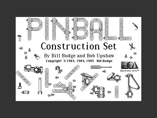 Pinball Construction Set (1985)