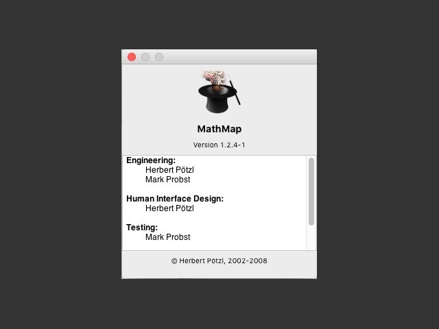 MathMap Cocoa (2008)
