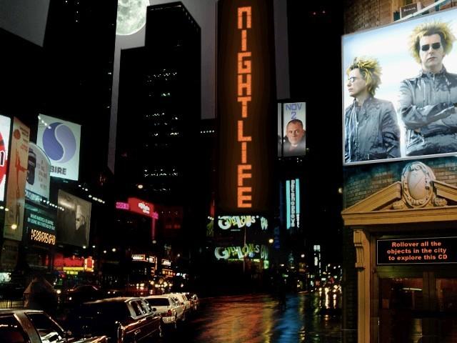 Pet Shop Boys - Nightlife US Tour Promo CD (1999)