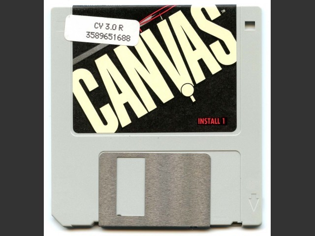 Deneba Canvas 3.0.6 (1992)