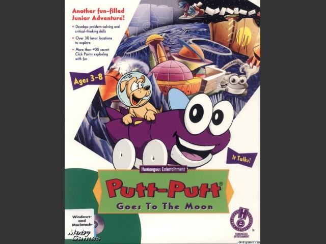 Putt-Putt Goes to the Moon (1995)