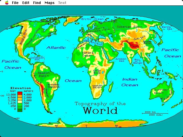 World Reference Atlas (1995)