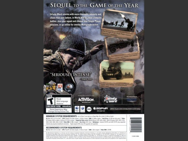Call of Duty 2 - Macintosh Repository