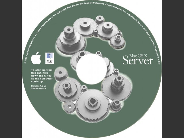 Mac OS X Server Rhapsody (Developer Release) (1999)